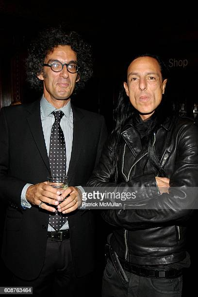 John Colapinto and Rick Owens attend Cooper Hewitt Museum's National Design Awards Gala at Cooper Hewitt Museum on October 18, 2007 in New York City.