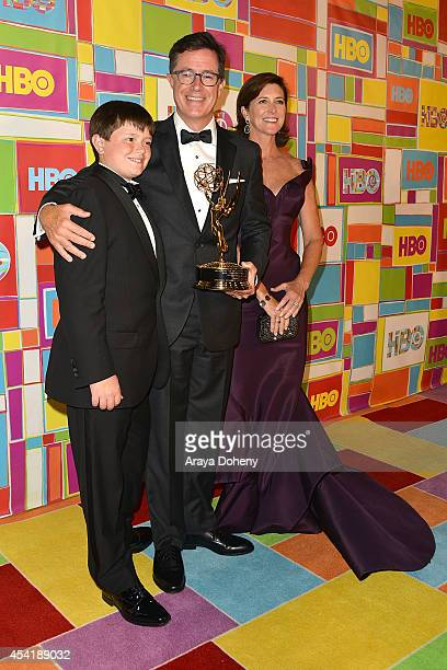 John Colbert Stephen Colbert and Evelyn McGeeColbert attend HBO's Official 2014 Emmy After Party at The Plaza at the Pacific Design Center on August...