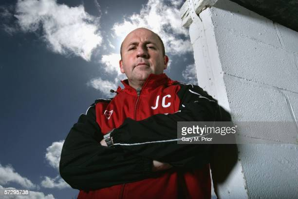 John Coleman manager of Accrington Stanley poses for a portrait at the Rolls Royce training ground on March 31 2006 in Barnoldswick England