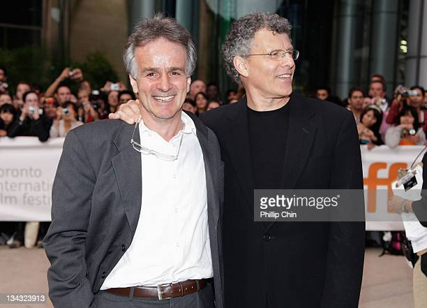 John Collee and Jon Ameil arrives at the 'Creation' Premiere held at The Visa Screening Room at the Elgin Theatre during the 2009 Toronto...