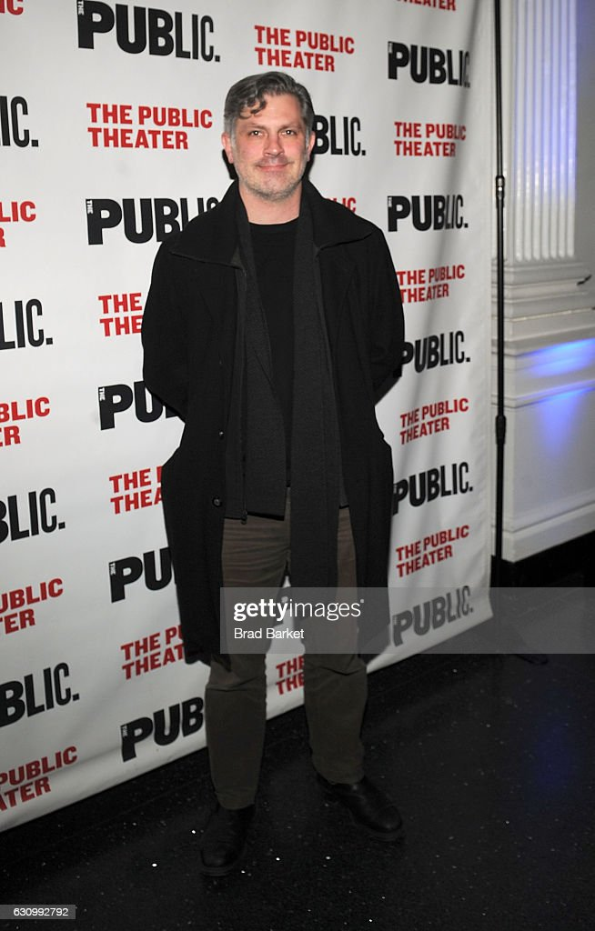 John Collins attends the 13th Annual Under the Radar Festival 2017 Opening Night at The Public Theater on January 4, 2017 in New York City.