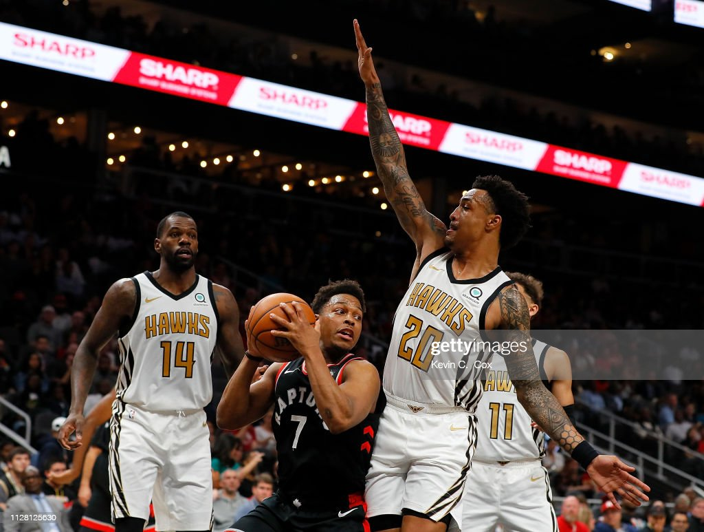 Toronto Raptors v Atlanta Hawks : News Photo