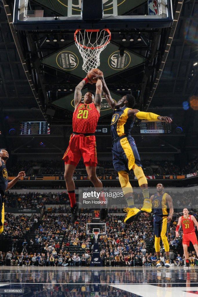 Atlanta Hawks v Indiana Pacers