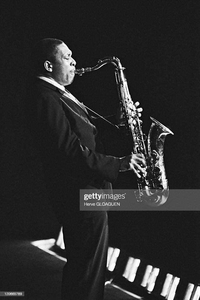 John Coltrane In Paris, France In 1963 - : News Photo