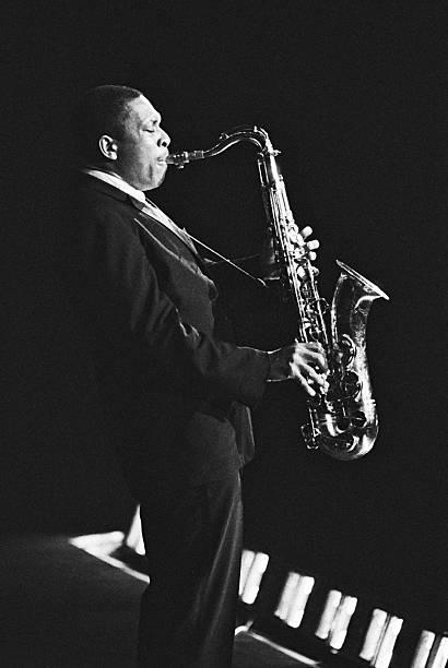 John Coltrane In Paris, France In 1963 -
