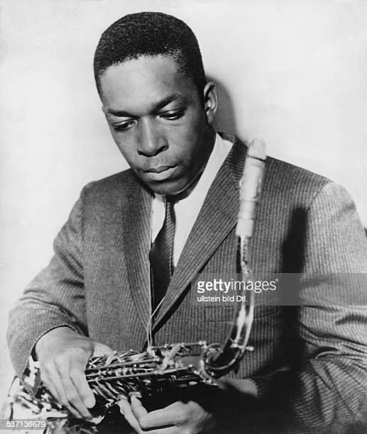 John Coltrane John Coltrane Jazz musician USA portrait around 1960