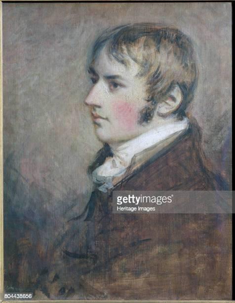 John Constable, English landscape painter, 1796. Portrait of Constable aged 20. Artist Daniel Gardner.