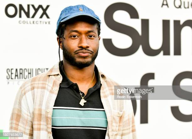 """John Conyers attends the Cinespia Special Screening of Fox Searchlight and Hulu's """"Summer Of Soul"""" with Questlove at The Greek Theatre on July 09,..."""