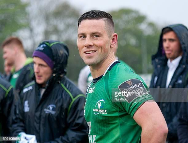 John Cooney of Connacht happy after the Guinness PRO12 rugby match between Connacht Rugby and Glasgow Warriors at the Sportsground in Galway, Ireland...