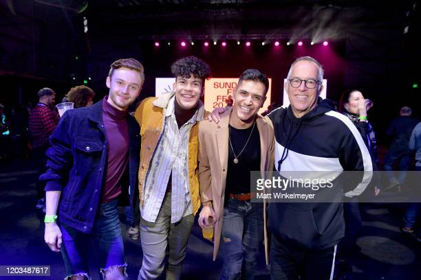 John Cooper and dancers attend the 2020 Sundance Film Festival Awards Night Ceremony at Basin Recreation Field House on February 01 2020 in Park City...