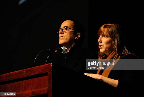 John Cooper and Sundance Institute's Managing Director Jill Miller attend the premiere of 'The September Issue' during the 2009 Sundance Film...