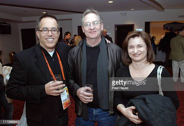 John Cooper David Chambus and Jenny Wilson during 2007 Sundance Film Festival Salt Lake City Gala Away From Her Premiere at Rose Wagner in Salt Lake...