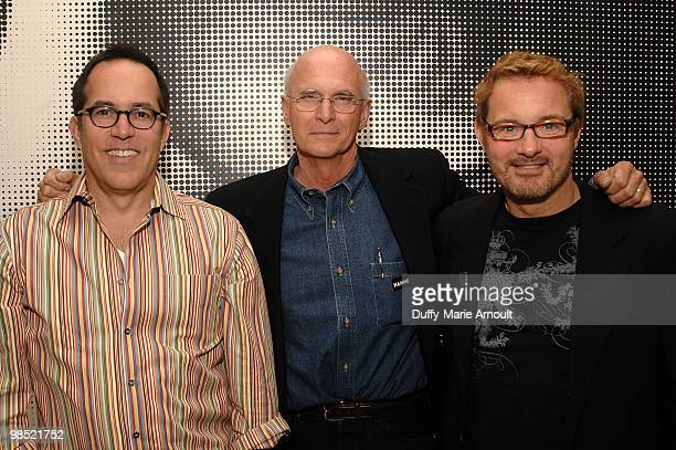 "John Cooper, Director Jon Else and David Courier attend Sundance Institute Presents ""Sing Faster The Stagehands' Ring Cycle"" at Hammer Museum on..."