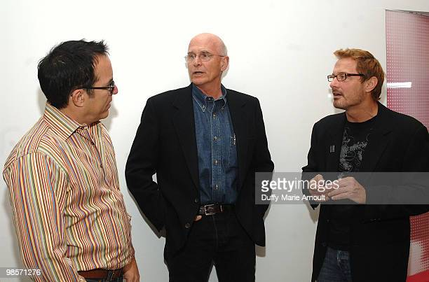 John Cooper Director Jon Else and David Courier attend Sundance Institute Presents Sing Faster The Stagehands' Ring Cycle at Hammer Museum on April...
