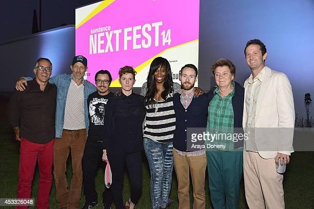 John Cooper Director Sundance Film Festival Jon Gries Efren Ramirez Jerusha Hess Shondrella Avery Aaron Ruell Sandy Martin and Trevor Groth Director...