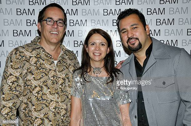 John Cooper, Florence Almozini and Cruz Angeles attend the opening night of BAMcinemaFEST at the Howard Gilman Opera House on June 17, 2009 in New...