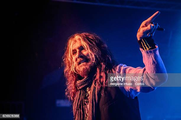 John Corabi of AustralianAmerican rock band and musical collective The Dead Daisies performs on stage on November 29 2016 in Milan Italy