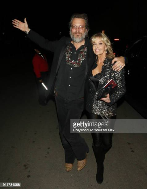 John Corbett and Bo Derek are seen on January 28, 2018 in Los Angeles, California.
