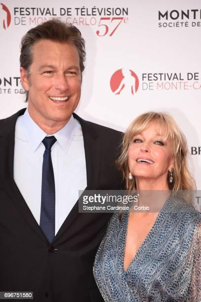 John Corbett and Bo Derek attend the 57th Monte Carlo TV Festival Opening Ceremony on June 16, 2017 in Monte-Carlo, Monaco.
