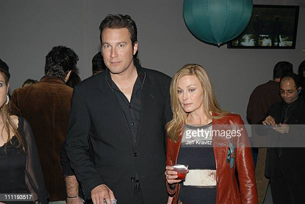 John Corbett and Bo Derek during VH1 Big in 2002 Awards Backstage and Audience at Grand Olympic Auditorium in Los Angeles CA United States
