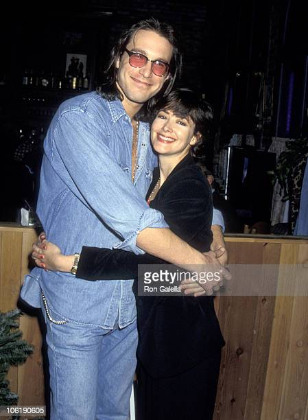 John Corbett and Janine Turner during 1993 National Association of Television Executives Convention at Moscone Convention Center in San Francisco...