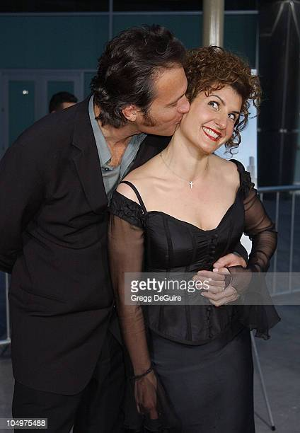 """John Corbett and Nia Vardalos during """"My Big Fat Greek Wedding"""" - Hollywood Premiere at ArcLight Theatre in Hollywood, California, United States."""