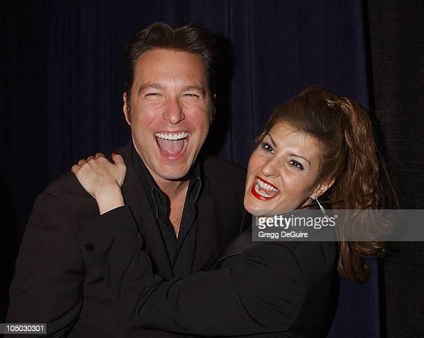 John Corbett and Nia Vardalos during The 29th Annual People's Choice Awards - Press Room by Gregg DeGuire at Pasadena Civic Auditorium in Pasadena,...