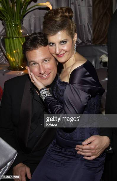 John Corbett and Nia Vardalos during The 60th Annual Golden Globe Awards - HBO After Party at The Beverly Hilton Hotel in Beverly Hills, California,...
