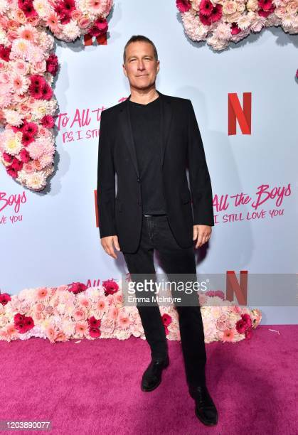 John Corbett attends the premiere of Netflix's 'To All the Boys: P.S. I Love You' at The Egyptian Theatre on February 03, 2020 in Los Angeles,...