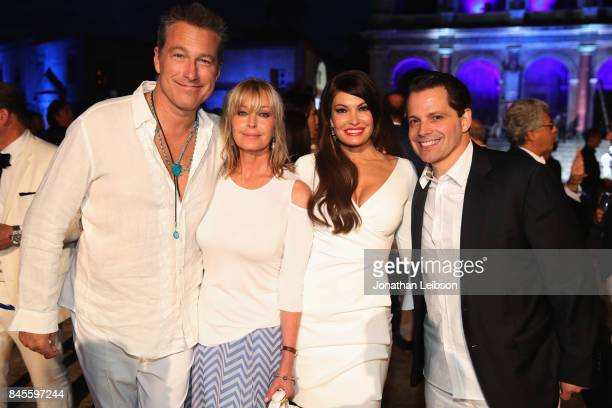 John Corbett Bo Derek Kimberly Guilfoyle and Anthony Scaramucci attend the Closing Night Gala at Cinecittà as part of the 2017 Celebrity Fight Night...