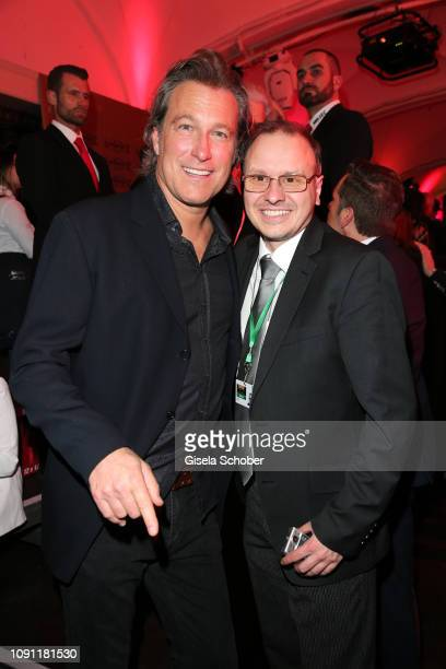 John Corbett Carsten Obst Editor 7 Tage during the Rockin' Chocolate Lambertz Monday Night 2019 on January 28 2019 in Cologne Germany