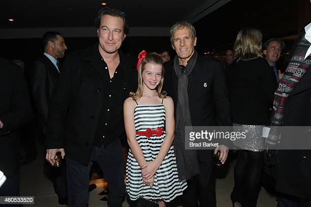 "John Corbett, Delaney Raye and Michael Bolton attend the ""Big Eyes"" New York Premiere - After Party at Kappo Masa on December 15, 2014 in New York..."