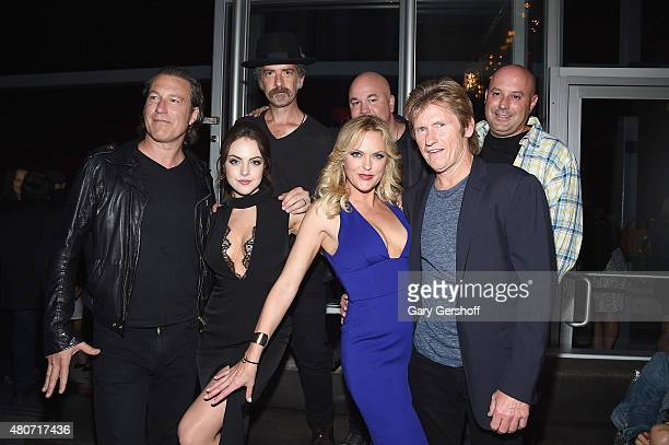 "John Corbett, Elizabeth Gillies, John Ales, Elaine Hendrix, Robert Kelly and Denis Leary attend the ""Sex&Drugs&Rock&Roll"" & ""Married"" New York Series..."