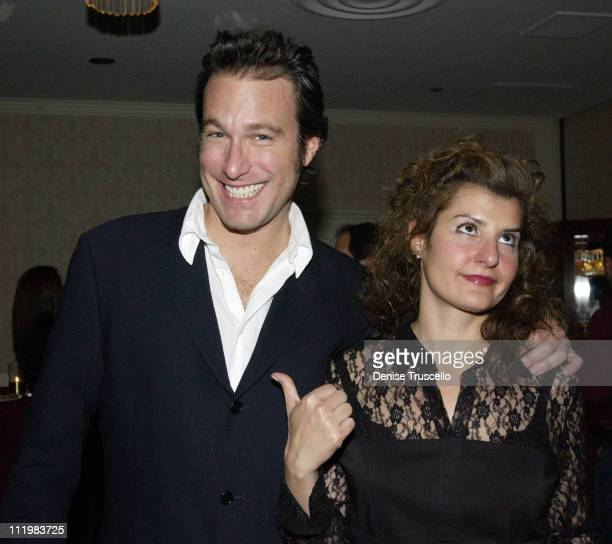 "John Corbett & Nia Vardalos during 2002 Showest - ""My Big Fat Greek Wedding"" Screening After - Party at Ballys Hotel in Las Vegas, Nevada, United..."