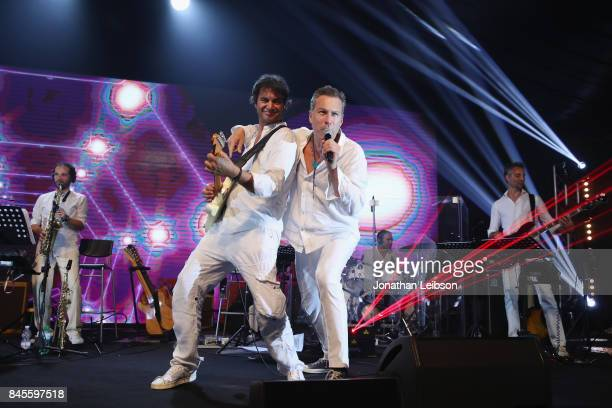 John Corbett performs during the Closing Night Gala at Cinecittà as part of the 2017 Celebrity Fight Night in Italy Benefiting The Andrea Bocelli...