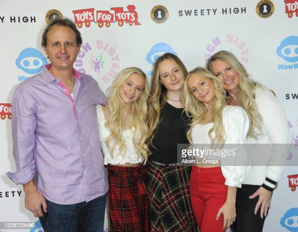 John Couch, Kameron Couch, Mackenzie Couch, Katie Couch and Christie Couch host the 2nd Annual Toys For Tots Toy Drive held at The Industry Loft...