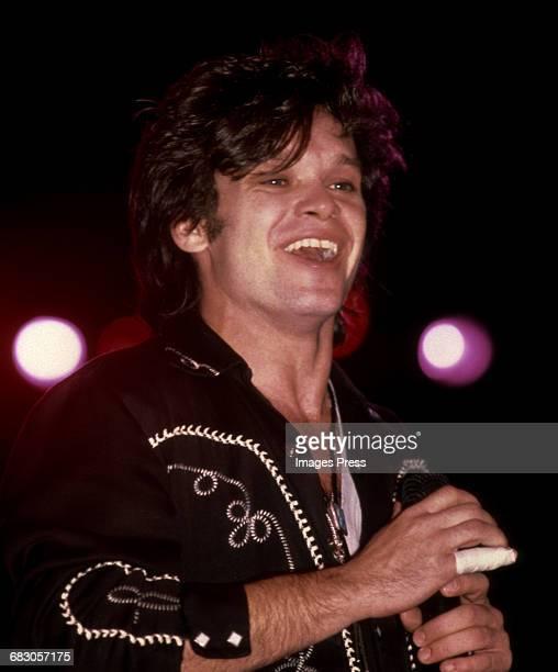 John Cougar Mellencamp in concert circa 1985 in New York City