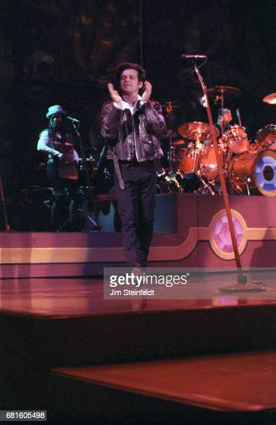 John Cougar Mellencamp performs at the Target Center in Minneapolis Minnesota on March 8 1992