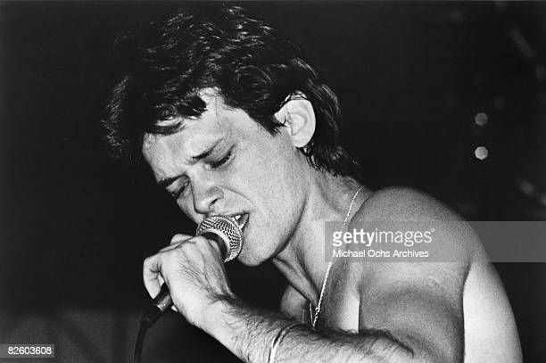 John Cougar performs live in 1977