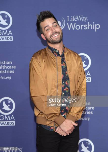 John Crist attends the 50th Annual GMA Dove Awards at Lipscomb University on October 15 2019 in Nashville Tennessee