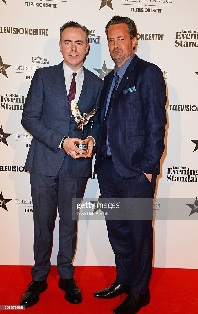 London Evening Standard British Film Awards - Winners Boards