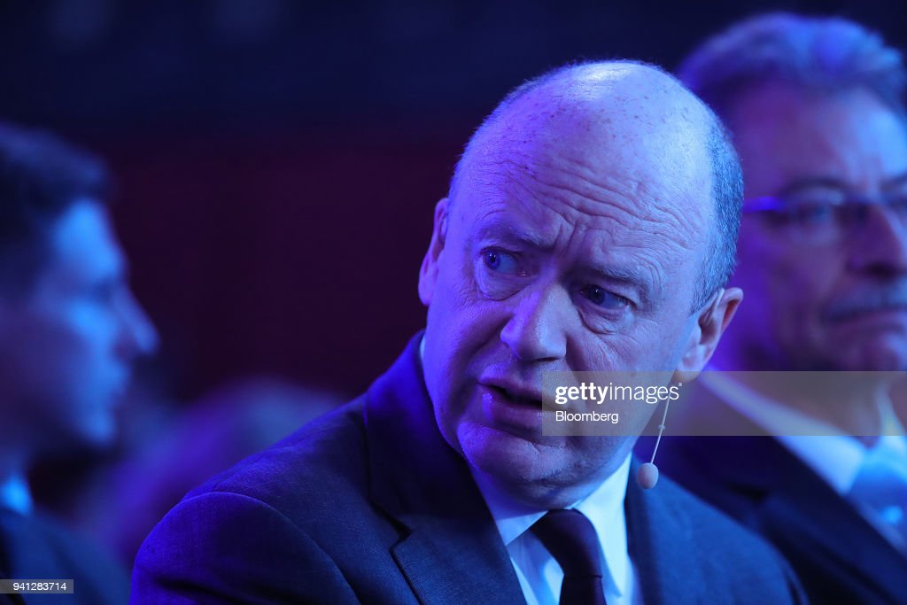 John Cryan, chief executive officer of Deutsche Bank AG, looks on before taking part in a panel discussion at the B20 Summit, a business forum linked to Germany's G-20 presidency, in Berlin, Germany, on Tuesday, May 2, 2017. Deutsche Bank AG is considering candidates to potentially replace Chief Executive Officer Cryan amid heightened tensions between him and Supervisory Board Chairman Paul Achleitner, the Times of London reported without saying where it got the information. The bank approached Richard Gnodde, the head of Goldman Sachs Group Inc.s international operations, but hes thought to have spurned the overture, the newspaper said. Deutsche Bank also considered UniCredit SpA CEO Jean Pierre Mustier and Standard Chartered Plc CEO Bill Winters, according to the report. Our editors select the best archive images for the Deutsche story. Photographer: Krisztian Bocsi/Bloomberg via Getty Images