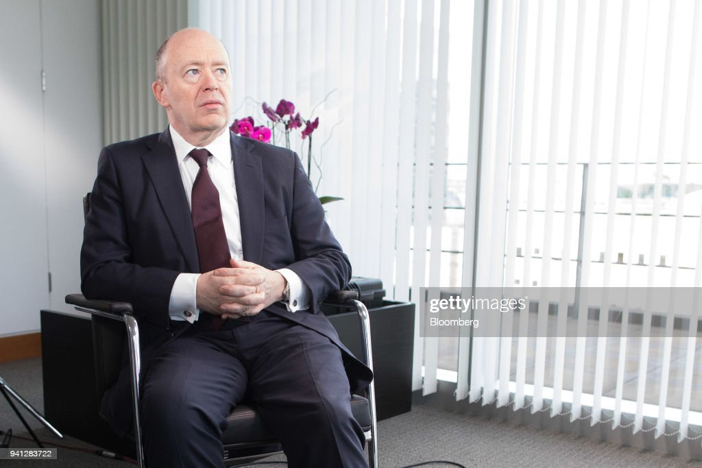 John Cryan, chief executive officer of Deutsche Bank AG, pauses during a Bloomberg Television interview at the Deutsche Bank offices in London, U.K., on Monday, March 6, 2017. Deutsche Bank AG is considering candidates to potentially replace Chief Executive Officer Cryan amid heightened tensions between him and Supervisory Board Chairman Paul Achleitner, the Times of London reported without saying where it got the information. The bank approached Richard Gnodde, the head of Goldman Sachs Group Inc.s international operations, but hes thought to have spurned the overture, the newspaper said. Deutsche Bank also considered UniCredit SpA CEO Jean Pierre Mustier and Standard Chartered Plc CEO Bill Winters, according to the report. Our editors select the best archive images for the Deutsche story. Photographer: Jason Alden/Bloomberg via Getty Images
