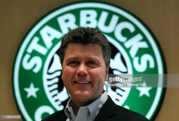 John Culver president of Starbucks operations in China Japan and AsiaPacific Wan Chai 29MAR12