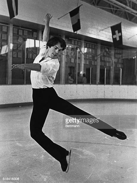 John Curry Olympic gold medal figure skating champion who stars in the spectacular Ice Theatre