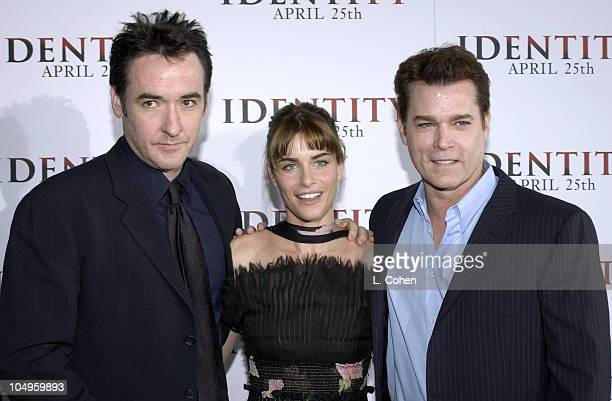 John Cusack Amanda Peet and Ray Liotta during 'Identity' Premiere at Grauman's Chinese Theatre in Hollywood California United States