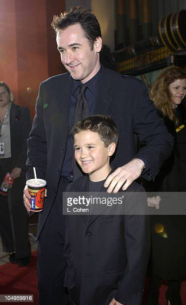 John Cusack and Bert Loehr during 'Identity' Premiere at Grauman's Chinese Theatre in Hollywood California United States