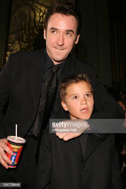 John Cusack and Bret Loehr during World Premiere of 'Identity' at Grauman's Chinese Theatre in Hollywood California United States
