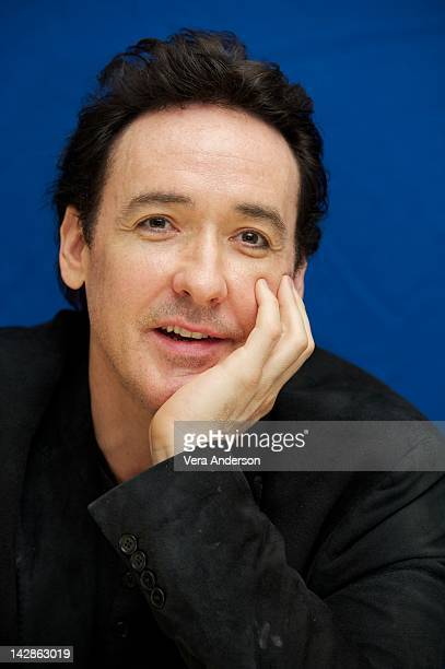 John Cusack at 'The Raven' Press Conference at Four Seasons Hotel on April 12 2012 in Beverly Hills California