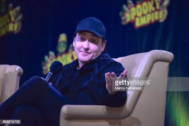 John Cusack at the Spooky Empire Horror Convention at the Hyatt Regency on October 28 2017 in Orlando Florida
